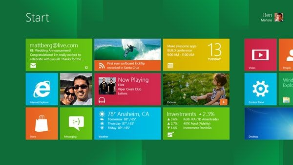 Windows 8: caratteristiche, prime impressioni e download